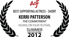 Best Supporting Actress in a Short Film - Asians on Film Festival - Summer, 2012