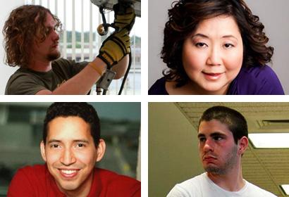 Ben Heald, Debby Rosencrans, Nick Citrone, and Rafael Marinho