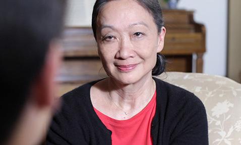 Tina Chen in Descendants of the Past, Ancestors of the Future