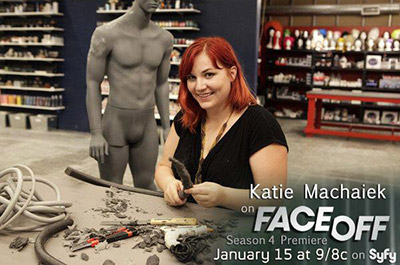 Katie Machaiek on Face Off