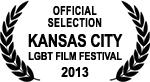Official Selection - Kansas City LGBT Film Festival - 2013